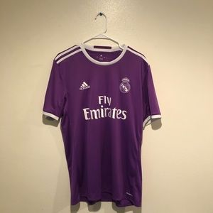 Authentic Real Madrid Purple Jersey